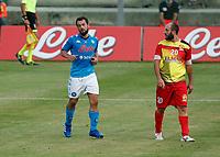 Amin Younes  durante il Triangolare precampionato nel ritiro estivo  tra Napoli , L'Aquila e il Castel Di Sangro allo stadio Patini