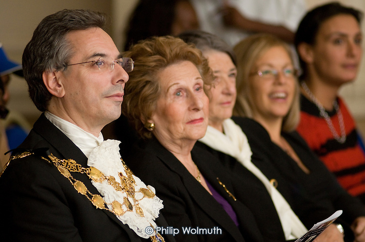 Westminster Deputy Lord Mayor Robert Davis at the Avenues Youth Project 2008 Fashion Show at the Paddington Hilton.