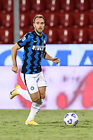 Christian Eriksen of FC Internazionale<br /> during the Serie A football match between SC Benevento and FC Internazionale at stadio Ciro Vigorito in Benevento (Italy), September 30, 2020. <br /> Photo Cesare Purini / Insidefoto