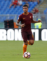 Calcio, Serie A: Roma vs Udinese. Roma, stadio Olimpico, 20 agosto 2016.<br /> Roma's Emerson Palmieri in action during the Italian Serie A football match between Roma and Udinese at Rome's Olympic Stadium, 20 August 2016. Roma won 4-0.<br /> UPDATE IMAGES PRESS/Riccardo De Luca