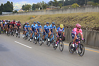 TUNJA - COLOMBIA, 14-02-2020: Cuarta etapa del Tour Colombia 2.1 2020 con un recorrido de 168,6 km que se corrió entre Paipa y Santa Rosa de Viterbo, Boyacá. / Fourth stage of 168,6 km as part of Tour Colombia 2.1 2020 that ran between Paipa and Santa Rosa de Viterbo, Boyaca.  Photo: VizzorImage / Darlin Bejarano / Cont