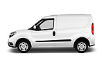 Car driver side profile view of a 2016 Fiat Doblo Pack 4 Door Cargo Van