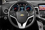 2013 Chevrolet Cruze SW LTZ wagon Steering wheel Stock Photo
