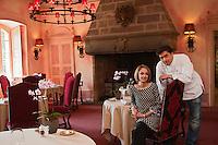 Europe/France/Limousin/19/Corrèze/Env de Brive-la-Gaillarde/Varetz: Château de Castel Novel - Nicolas Soulié et Sophie Parveaux [Non destiné à un usage publicitaire - Not intended for an advertising use]