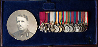 BNPS.co.uk (01202 558833)<br /> Pic: PhilYeomans/BNPS<br /> <br /> General Henry Osborne Curtis's miniatures including his DSO and MC - the original gallantry medal's have disappeared from the museum.<br /> <br /> Military museum in hot water over missing medals..<br /> <br /> A woman whose father and grandfather donated their highly-valuable gallantry medals to an army museum is furious they have disappeared having been suspiciously substituted for duplicates.<br /> <br /> Susan Bond, whose husband Richard is a retired crown court judge, discovered the two Military Cross groups at the The Royal Green Jackets Museum are not the ones bequeathed to them after one set appeared on the open market.<br /> <br /> Mrs Bond confronted the trustees at the museum, whose former Colonel-in-Chief was the Queen, but the 70-year-old has been left dismayed at their 'indifferent' response at the loss which they have been unable to properly explain.<br /> <br /> The owners - the museum based in Winchester, Hants - said they were satisfied that no criminal activity had taken place and the police investigation came to nothing.