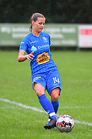 20200819, Sint-Amandsberg , GENT , BELGIUM : Gent's Shari Van Belle pictured during a friendly soccer game between KAA Gent ladies and RC Lens ladies in the preparations for the coming season 2020 - 2021 of Belgian Women's SuperLeague and French second division , Wednesday 19 th of August 2020 in JAGO Sint-Amandsberg / Gent, Belgium . PHOTO SPORTPIX.BE | STIJN AUDOOREN