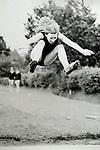 Liz Davis Long Jump Sidcot School 1966 ish.