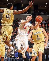 20110121 Georgia Tech Yellow Jackets Virginia Cavaliers NCAA men's basketball ACC