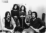 Fleetwood Mac 1968 Mick Fleetwood, Peter Green, Jeremy Spencer, Danny Kirwan and John McVie<br /> © Chris Walter
