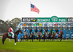 October 10, 2020: Civil Union, ridden by Joel Rosario, wins the 2020 running of the G1 Flower Bowl S. at Belmont Park in Elmont, NY. Sophie Shore/ESW/CSM