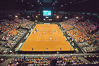 September 13, 2014, Netherlands, Amsterdam, Ziggo Dome, Davis Cup Netherlands-Croatia, Doubles,Overall<br /> Photo: Tennisimages/Henk Koster