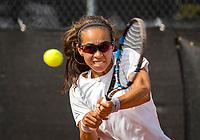 Rotterdam, Netherlands, August21, 2017, Rotterdam Open, Flavia Guimaraes Bueno (BRA)<br /> <br /> Photo: Tennisimages/Henk Koster
