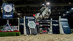 Emanuele Gaudiano of Italy rides Caspar 232 in action during the Longines Grand Prix as part of the Longines Hong Kong Masters on 15 February 2015, at the Asia World Expo, outskirts Hong Kong, China. Photo by Victor Fraile / Power Sport Images