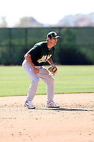 Grant Green, Oakland Athletics 2010 minor league spring training..Photo by:  Bill Mitchell/Four Seam Images.