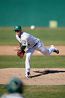Beloit Snappers relief pitcher Cole Gruber (6) delivers a pitch during a game against the Bowling Green Hot Rods on May 7, 2017 at Pohlman Field in Beloit, Wisconsin.  Bowling Green defeated Beloit 6-2.  (Mike Janes/Four Seam Images)