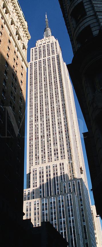 The Empire State Buliding. Manhattan, New York, New York.