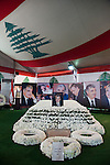 July 2010, LEBANON:  The shrine of the former Lebanese Prime Minister Rafiki Hariri who was murdered in a car bomb attack. The shrine is located next to the Mohammad al-Amin Mosque.. Picture by Graham Crouch