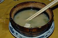 Suppe mit Dofu, Hongkong, China