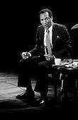 "Denver Colorado<br /> USA<br /> June 10, 1983<br /> <br /> Comedian Bill Cosby performs at McNichols Sports Arena. <br /> <br /> William Henry ""Bill"" Cosby, Jr. (born July 12, 1937) is an American comedian, actor, author, television producer, educator, musician and activist. A veteran stand-up performer, he got his start at various clubs, then landed a starring role in the 1960s action show, I Spy. He later starred in his own series, the situation comedy The Bill Cosby Show, in 1969. He was one of the major characters on the children's television series The Electric Company for its first two seasons, and created the educational cartoon comedy series Fat Albert and the Cosby Kids, about a group of young friends growing up in the city. Cosby has also acted in a number of films.<br /> <br /> During the 1980s, Cosby produced and starred in what is considered to be one of the decade's defining sitcoms, The Cosby Show, which aired eight seasons from 1984 to 1992. The sitcom highlighted the experiences and growth of an upper-middle-class African-American family. He also produced the spin-off sitcom A Different World, which became second to The Cosby Show in ratings. He starred in the sitcom Cosby from 1996 to 2000 and hosted Kids Say the Darndest Things for two seasons.<br /> <br /> He has been a sought-after spokesman, and has endorsed a number of products, including Jell-O, Kodak film, Ford, Texas Instruments, and Coca-Cola, including New Coke. In 2002, scholar Molefi Kete Asante included him in his book, the 100 Greatest African Americans."