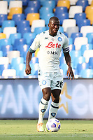 Kalidou Koulibaly of SSC Napoli<br /> during the friendly football match between SSC Napoli and Pescara Calcio 1936 at stadio San Paolo in Napoli, Italy, September 11, 2020. <br /> Photo Cesare Purini / Insidefoto