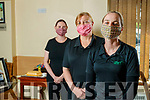 Mag Dowling, Margaret Ross and Katie McCabe Staff member at Buds community centre Ballyduff who are supplying facemasks to nursing homes.