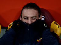 Calcio, Serie A: AS Roma - Benevento, Roma, stadio Olimpico, 11 gennaio 2018.<br /> Roma's Daniele De Rossi waits for the start of the Italian Serie A football match between AS Roma and Benevento at Rome's Olympic stadium, February 11, 2018.<br /> UPDATE IMAGES PRESS/Isabella Bonotto