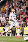 Alvaro Morata of Real Madrid in action during their 2016-17 UEFA Champions League match between Real Madrid vs Sporting Portugal at the Santiago Bernabeu Stadium on 14 September 2016 in Madrid, Spain. Photo by Diego Gonzalez Souto / Power Sport Images