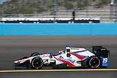 2017 IndyCar Media Day - Track Action<br /> Phoenix Raceway, Arizona, USA<br /> Saturday 11 February 2017<br /> Ed Jones<br /> World Copyright: Michael L. Levitt/LAT Images<br /> ref: Digital Image _01I5153