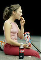 Montreal (QC) CANADA -  MODEL RELEASED File Photo between 2000 and 2004  - A young adult female