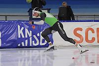 SCHAATSEN: HEERENVEEN, 21-12-2019, IJsstadion Thialf, KNSB Topsporttrainingswedstrijd, Koen Verweij, ©foto Martin de Jong