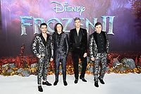 """Collabro<br /> arriving for the """"Frozen 2"""" premiere at the BFI South Bank, London.<br /> <br /> ©Ash Knotek  D3537 17/11/2019"""