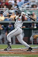 June 26th 2008:  Ciro Rosero of the State College Spikes, Class-A affiliate of the Pittsburgh Pirates, during a game at Falcon Park in Auburn, NY.  Photo by:  Mike Janes/Four Seam Images
