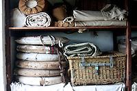 Life Rings and Baskets at Shipreck Museum, Warrnambool