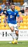 St Johnstone FC Season 2018-19…  McDiarmid Park    <br />Liam Gordon<br />Picture by Graeme Hart. <br />Copyright Perthshire Picture Agency<br />Tel: 01738 623350  Mobile: 07990 594431