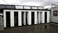 General view of the Bromley FC turnstiles that haven't been used for several months owing to the Covid-19 pandemic during Bromley vs Brentford B, Friendly Match Football at Hayes Lane on 3rd October 2020