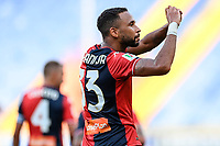 esultanza gol Hernani <br /> during the Italy cup football match between Genoa CFC and Perugia at Stadio Marassi in Genova (Italy), August 13th, 2021. Photo Image Sport / Insidefoto