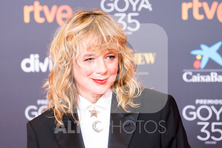 attends the red carpet previous to Goya Awards 2021 Gala in Malaga . March 06, 2021. (Alterphotos/Francis González)