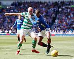 12.05.2019 Rangers v Celtic: Glen Kamara and Scott Brown