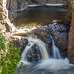 Copper Falls in Copper Falls State Park near Mellen, Wisconsin