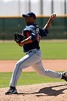 Jose Jimenez -  Cleveland Indians - 2009 spring training.Photo by:  Bill Mitchell/Four Seam Images