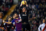 Goalkeeper Marc-Andre Ter Stegen of FC Barcelona saves the ball during the La Liga 2018-19 match between Rayo Vallecano and FC Barcelona at Estadio de Vallecas, on November 03 2018 in Madrid, Spain. Photo by Diego Gouto / Power Sport Images