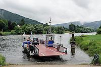 Mainfähre in Stadtprozelten, Unterfranken, Bayern, Deutschland