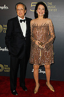LOS ANGELES, CA, USA - DECEMBER 06: William Friedkin, Sherry Lansing arrive at The Music Center's 50th Anniversary Spectacular held at The Music Center - Dorothy Chandler Pavilion on December 6, 2014 in Los Angeles, California, United States. (Photo by Celebrity Monitor)