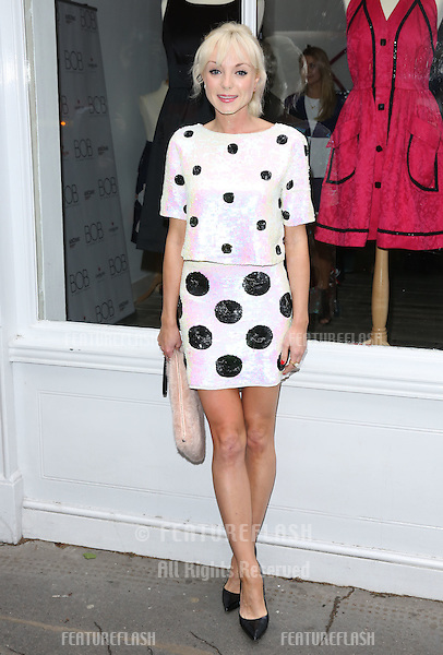 Helen George arriving for the BOB By Dawn O'Porter Pop Up Boutique - VIP Launch Party<br /> London, England. 06/05/2015 Picture by: James Smith / Featureflash