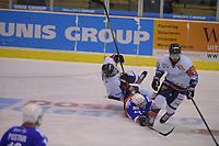 IJSHOCKEY: HEERENVEEN: 17-11-2018: UNIS Flyers - Hijs Hokij Den Haag, na een 2-2 stand in de reguliere speelperiode gingen de Flyers in overtime onderuit tegen Hijs Hokij Den Haag, uitslag 2-3, ©foto Martin de Jong