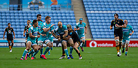 21st August 2020; Ricoh Arena, Coventry, West Midlands, England; English Gallagher Premiership Rugby, Wasps versus Worcester Warriors; Worcester are held up on the run