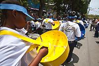 St. John Carnival Parade.July 4th, 2012.Cruz Bay, St. John.U.S. Virgin Islands