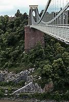 Technology: Bristol--Clifton Suspension Bridge. I.K. Brunel.  Photo '90.