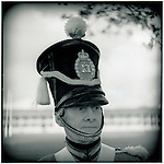 JUNE 1995    -  Sydney, Australia   -  A  retired soldier at the Sydney Barracks. .