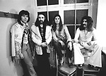 Black Sabbath 1971 Tony Iommi, Bill Ward, Ozzy Osbourne, Geezer Butler.© Chris Walter.